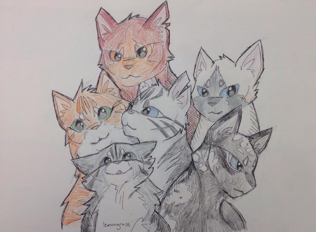 Anyone want their kitties hand-drawn? Little10