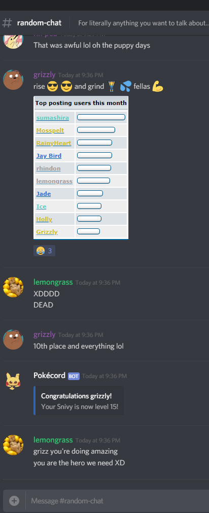Immortalised Discord Quotes