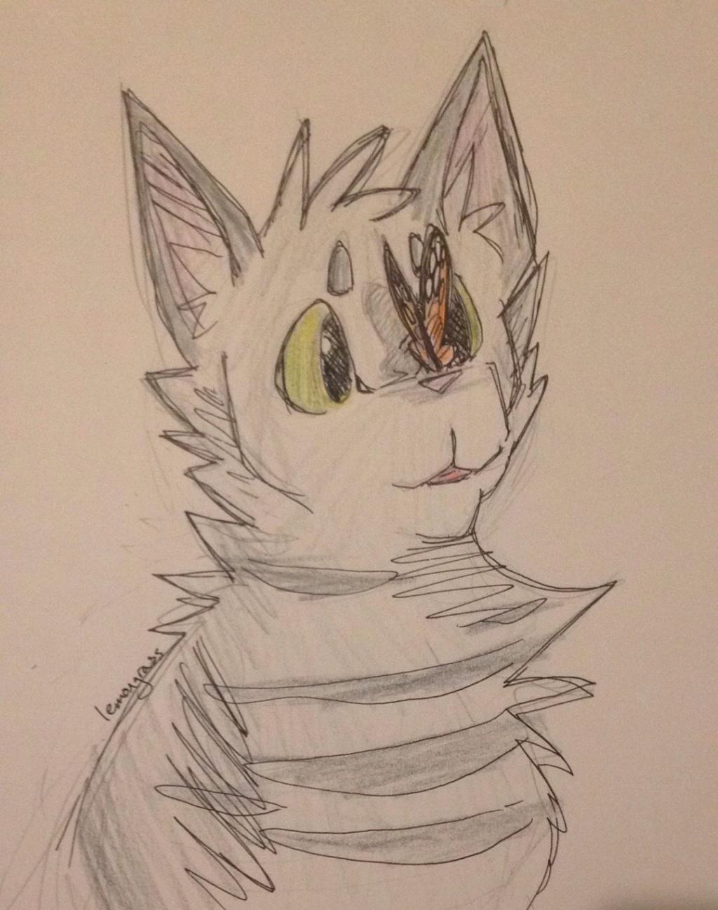 Anyone want their kitties hand-drawn? - Page 2 Slatep11