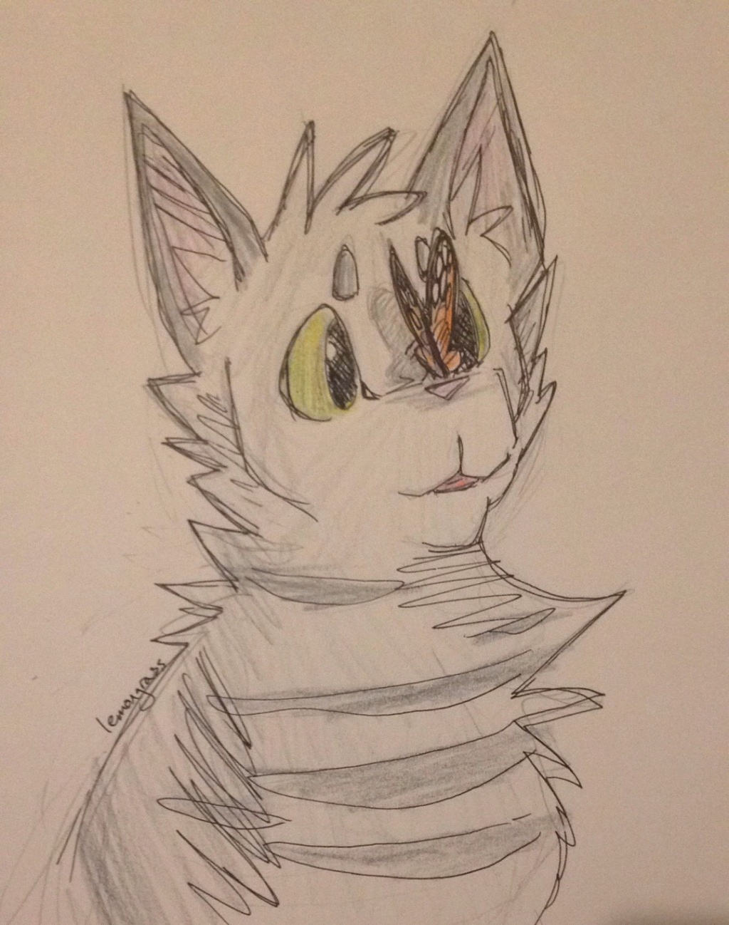 Anyone want their kitties hand-drawn? Slatep12