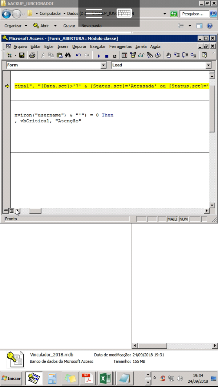 [Resolvido]Consulta com critério contar Data maior que Screen12
