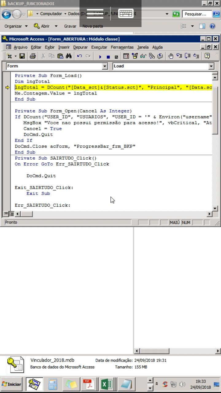[Resolvido]Consulta com critério contar Data maior que Screen14