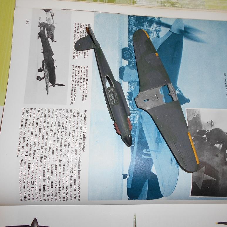 [Airfix] Hurricane biplace et soviétique ( c'est grave docteur ?) [FINI] Dscn4520