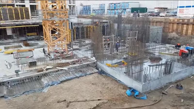 """""""Первый бетон"""" на очередных корпусах ЖК """"Нормандия"""" Zsmhxo10"""