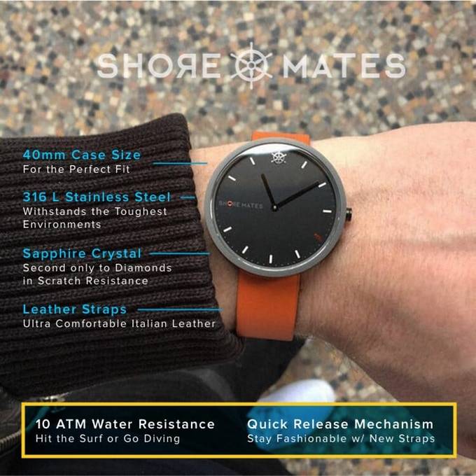 SHORE MATES : Ocean Inspired Watches 211