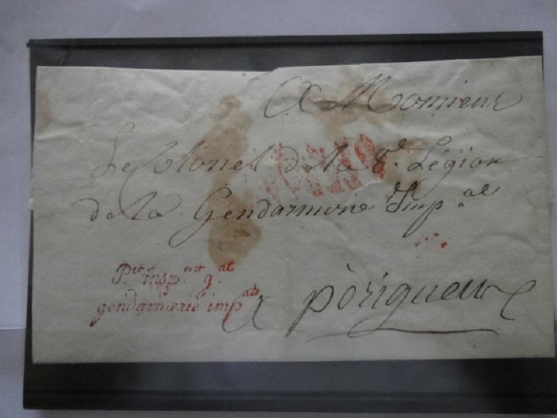 lettre de l'Etat Major du Premier Inspecteur de la Gendarmerie Dsc04112
