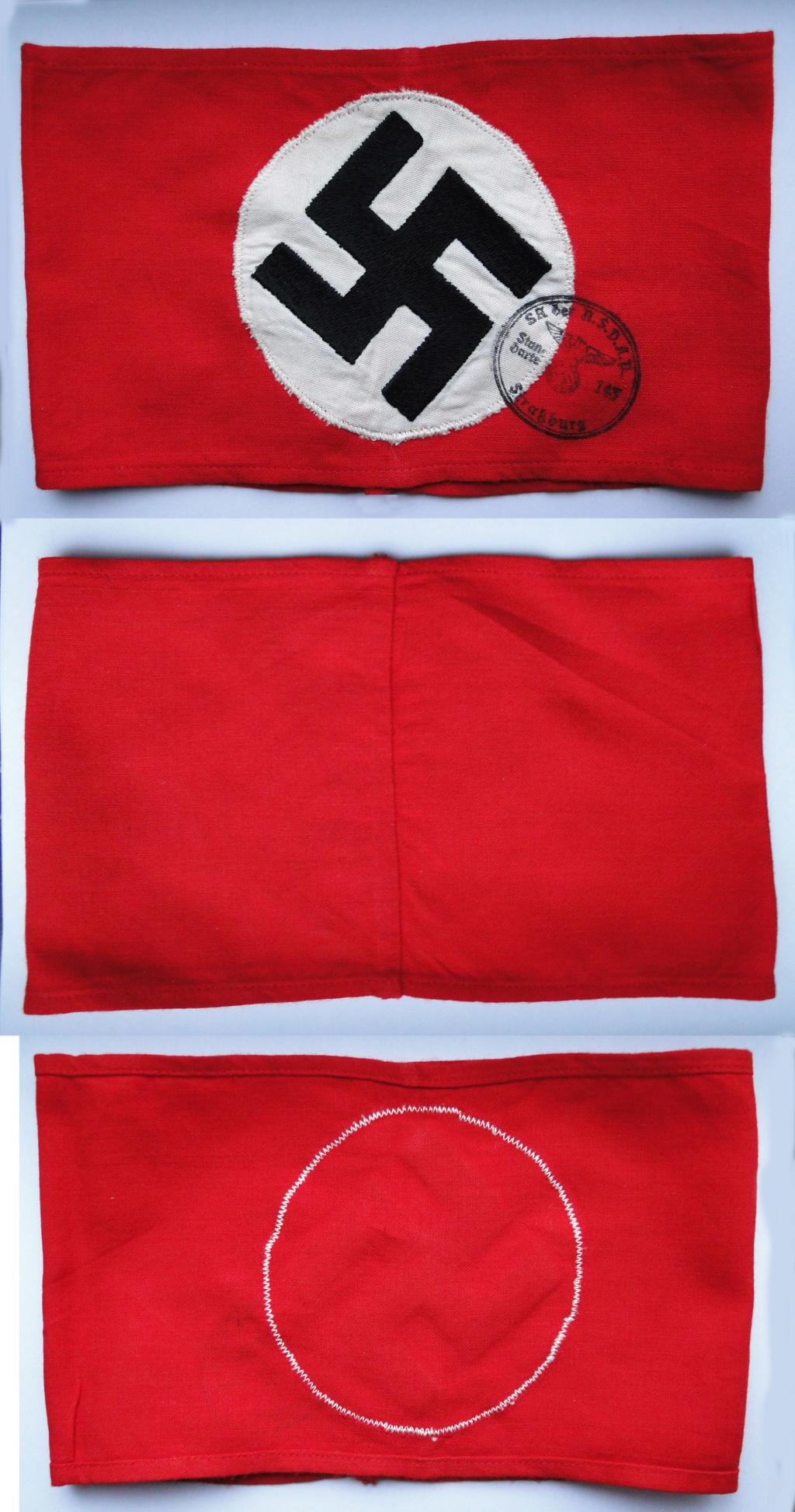 Identification brassard NSDAP Ba406510