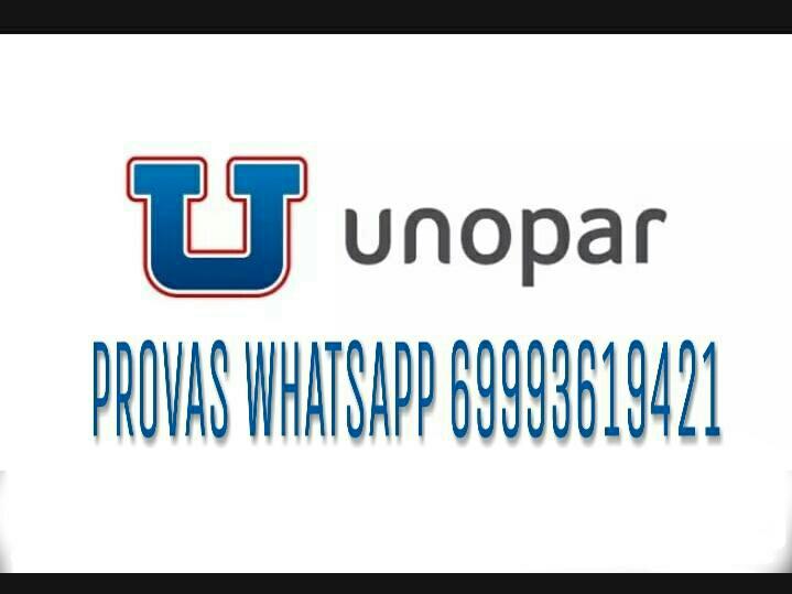 PROVAS UNOPAR 20181212