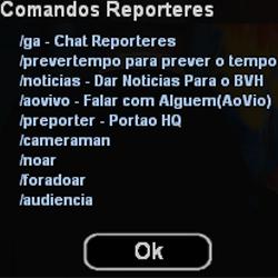 Manual Repórteres Comand10