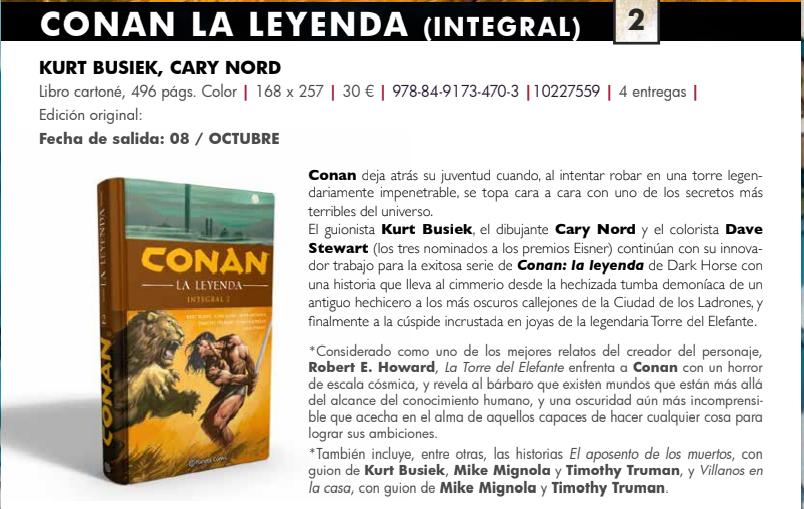 Los cómics IMPRESCINDIBLES de Conan Conan_11