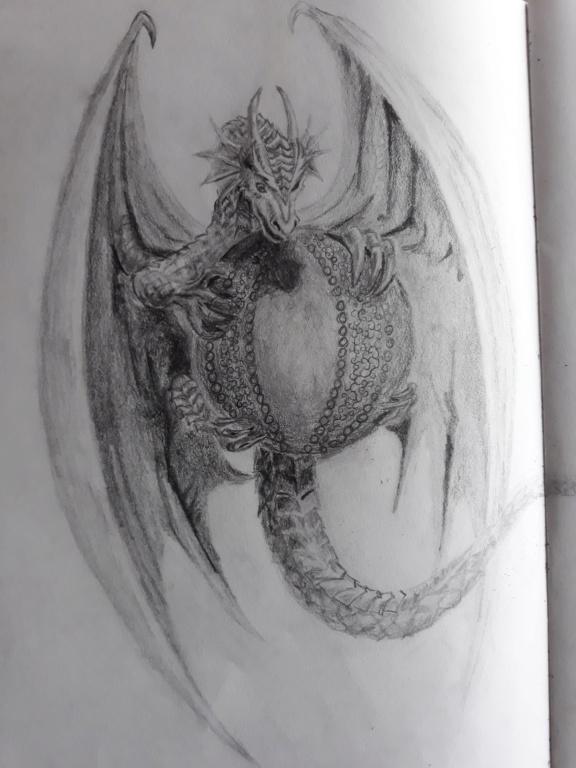Gepards (seltene) Zeichnungen  Drache10