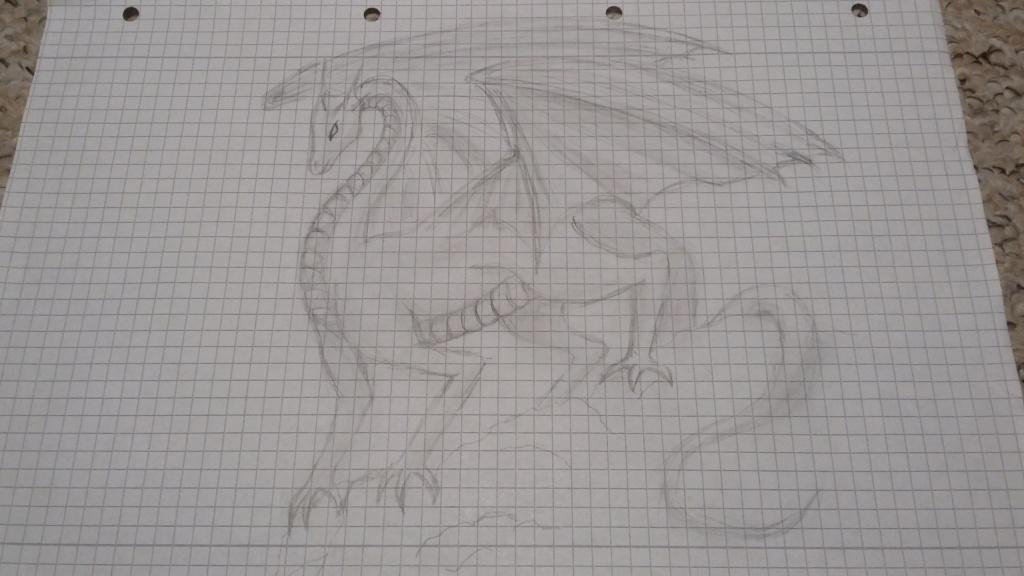 Gepards (seltene) Zeichnungen  Drache11