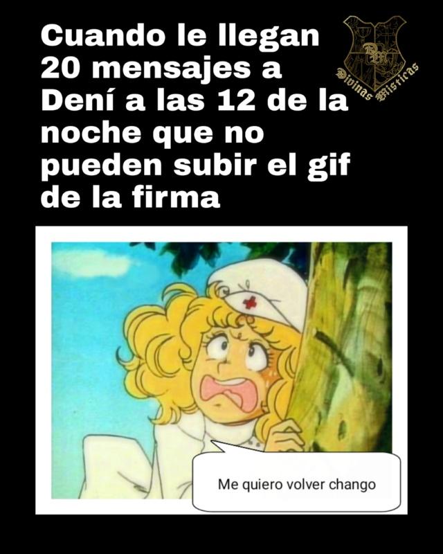 El Honorable Escuadrón de memes de las Divinas Místicas presenta: El meme de la editora de avatares y firmas Picsar13