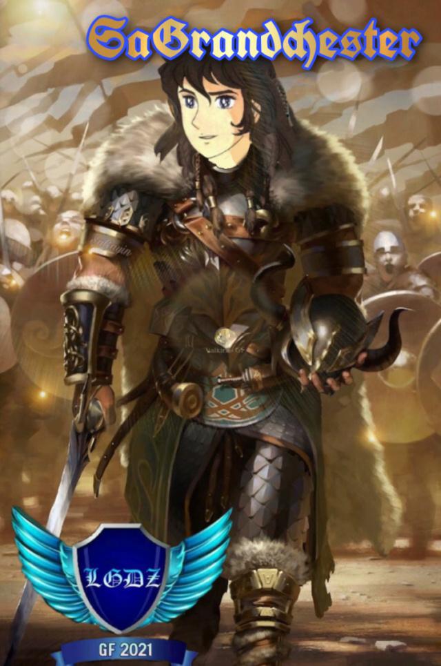 ***Legendarias Guerreras del Zafiro*** Valkirias  >> Terry Nuestro Dios Odin encarnado<< 98662410