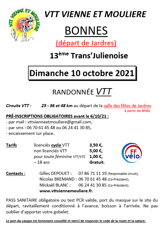 JARDRES (86) - Dimanche 10 octobre 2021 Affich10