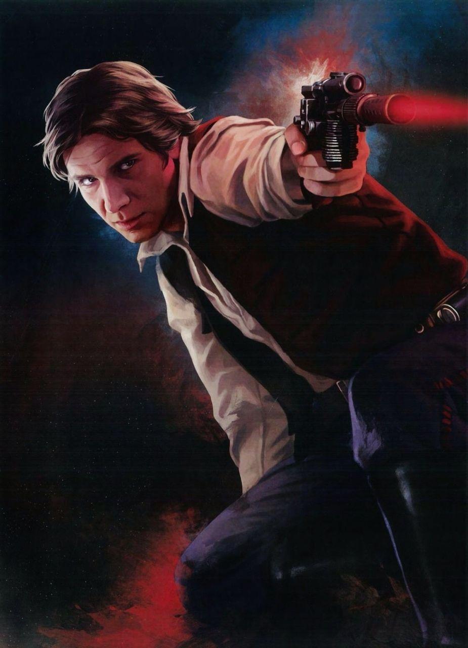 Scree (The SWTOR Bounty Hunter) vs. Han Solo 5dbe8c10
