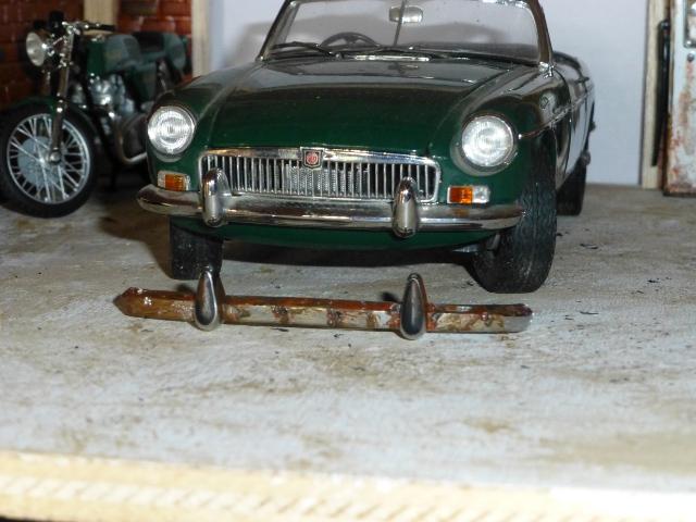 Ouvrir le conduit de la tige à 4mm : exemple. Garage11