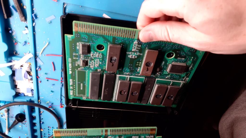 [WIP 100%] Réparation d'un slot MV-1FS en erreur Z80 - Création d'une cartouche de test audio 012_de10