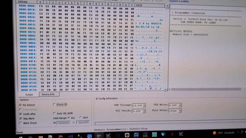 [WIP 100%] Réparation d'un slot MV-1FS en erreur Z80 - Création d'une cartouche de test audio 016_el10