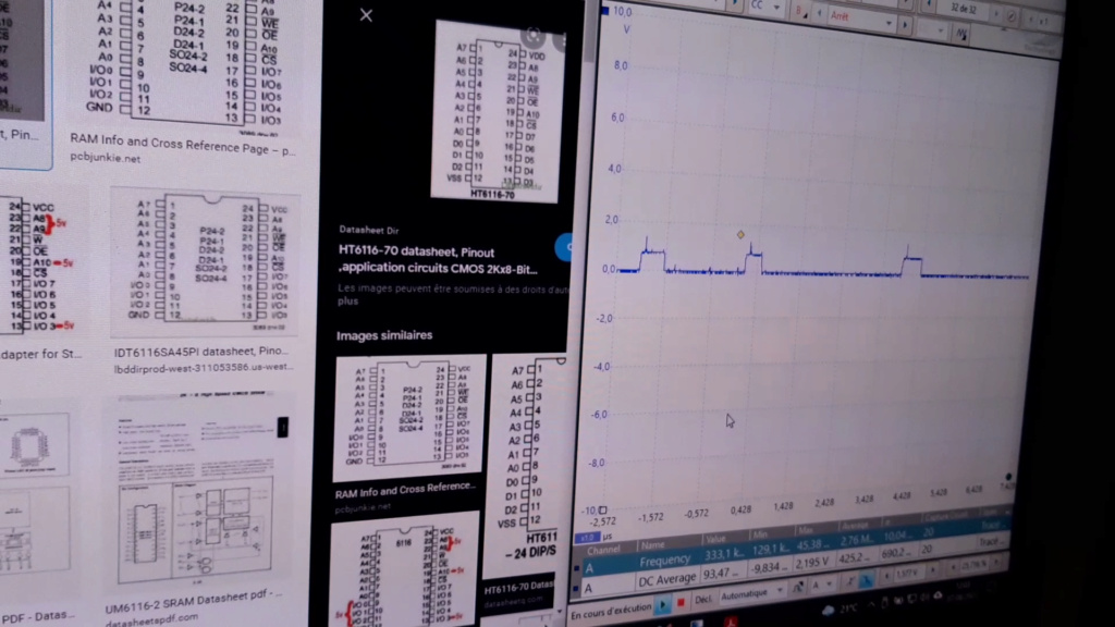 [WIP 100%] Réparation d'un slot MV-1FS en erreur Z80 - Création d'une cartouche de test audio 029_pa10