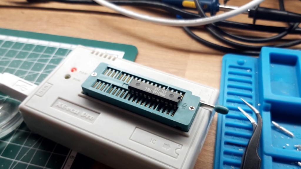 [WIP 100%] Réparation d'un slot MV-1FS en erreur Z80 - Création d'une cartouche de test audio 031_on10