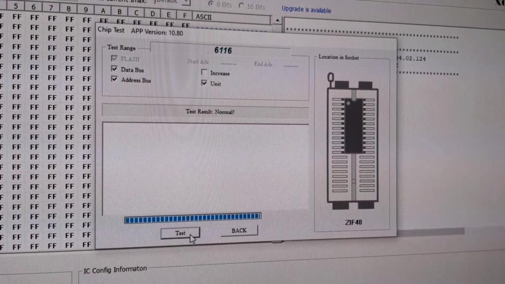 [WIP 100%] Réparation d'un slot MV-1FS en erreur Z80 - Création d'une cartouche de test audio 032_el10