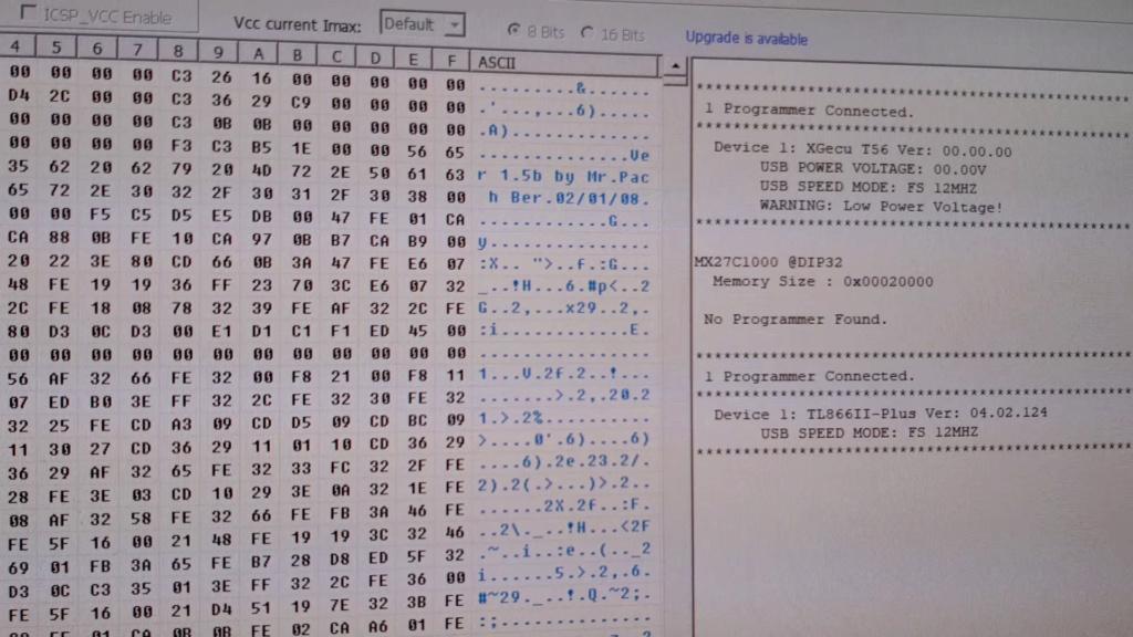 [WIP 100%] Réparation d'un slot MV-1FS en erreur Z80 - Création d'une cartouche de test audio 035_el10
