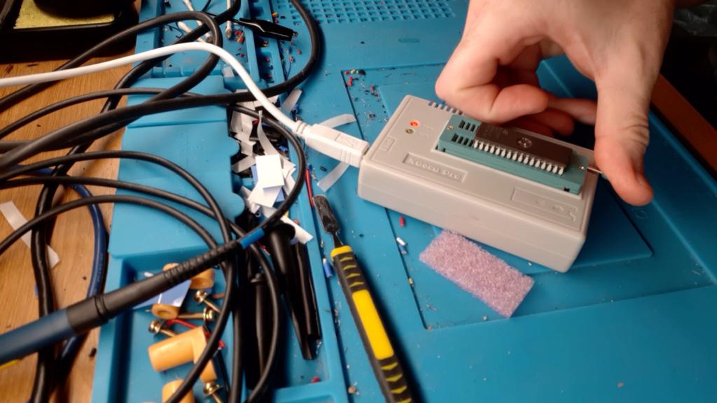 [WIP 100%] Réparation d'un slot MV-1FS en erreur Z80 - Création d'une cartouche de test audio 044_on10