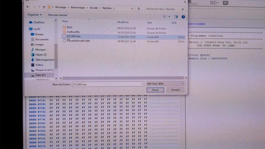 [WIP 100%] Réparation d'un slot MV-1FS en erreur Z80 - Création d'une cartouche de test audio 045_on10