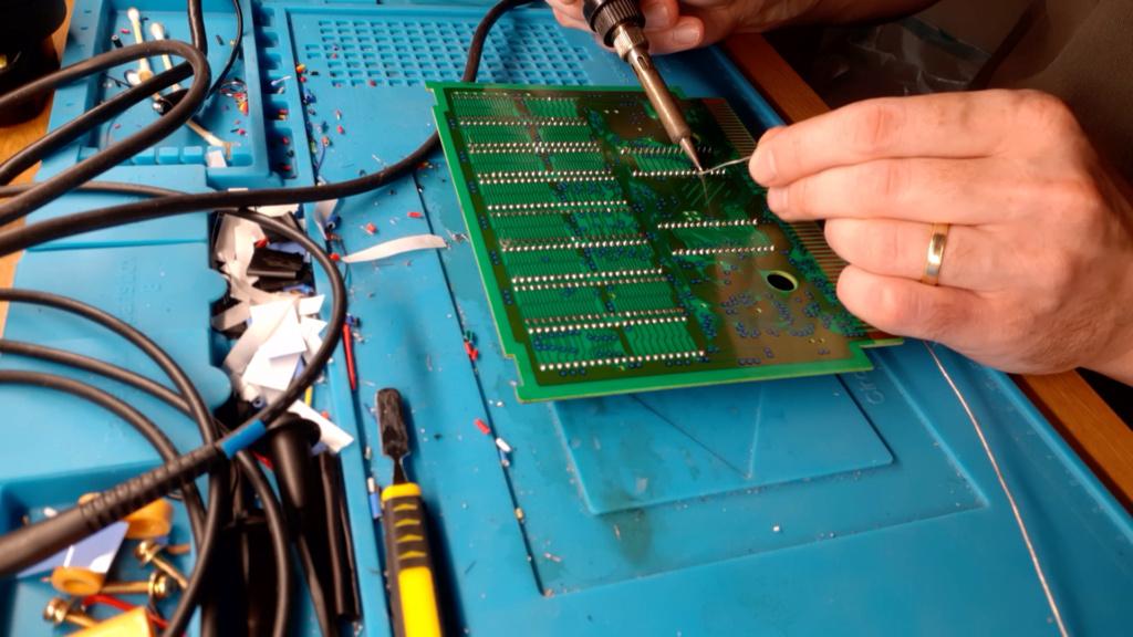 [WIP 100%] Réparation d'un slot MV-1FS en erreur Z80 - Création d'une cartouche de test audio 048_on10