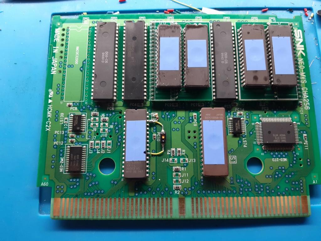 [WIP 100%] Réparation d'un slot MV-1FS en erreur Z80 - Création d'une cartouche de test audio 050_et10