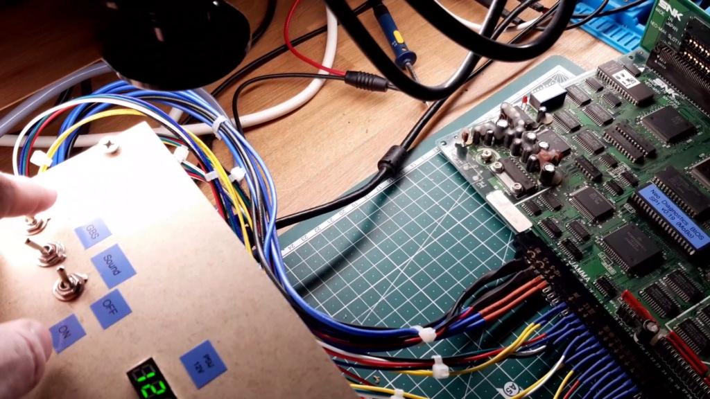 [WIP 100%] Réparation d'un slot MV-1FS en erreur Z80 - Création d'une cartouche de test audio 051_on10