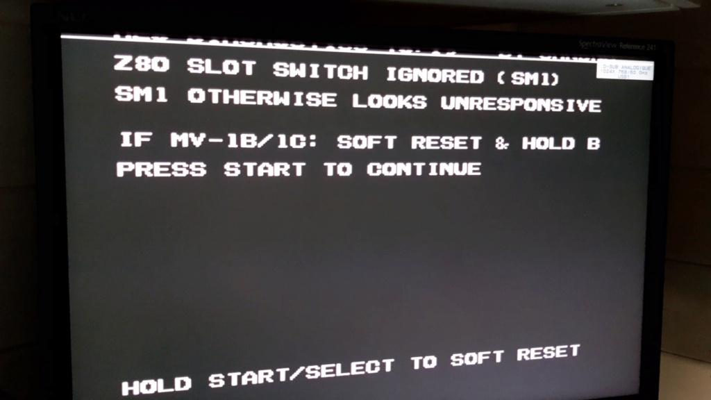 [WIP 100%] Réparation d'un slot MV-1FS en erreur Z80 - Création d'une cartouche de test audio 054_ca10
