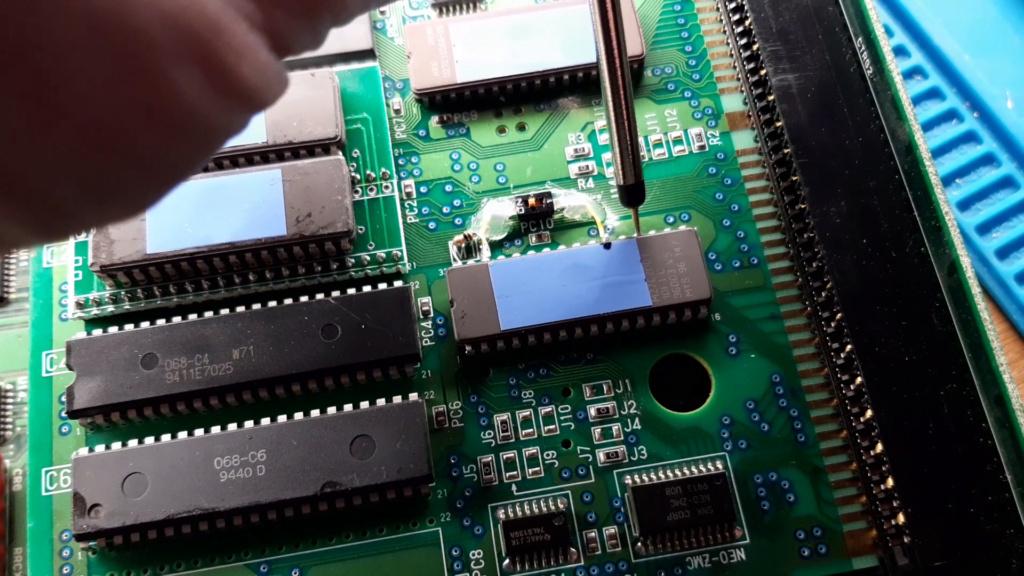 [WIP 100%] Réparation d'un slot MV-1FS en erreur Z80 - Création d'une cartouche de test audio 055_on10