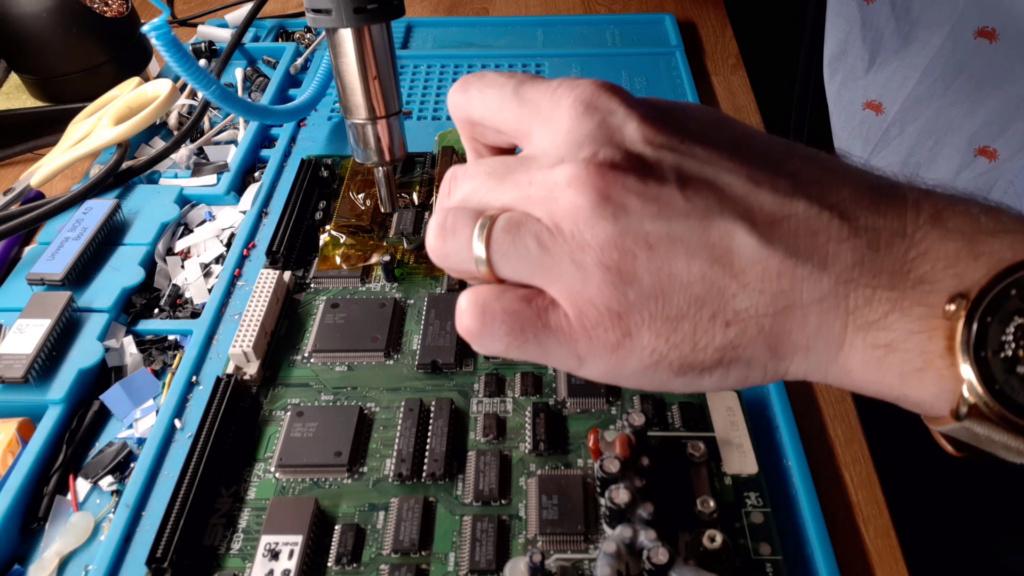 [WIP 100%] Réparation d'un slot MV-1FS en erreur Z80 - Création d'une cartouche de test audio 064_on10