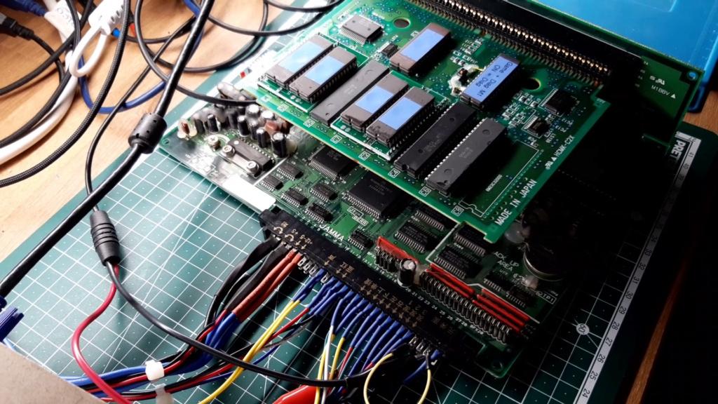 [WIP 100%] Réparation d'un slot MV-1FS en erreur Z80 - Création d'une cartouche de test audio 069_on10