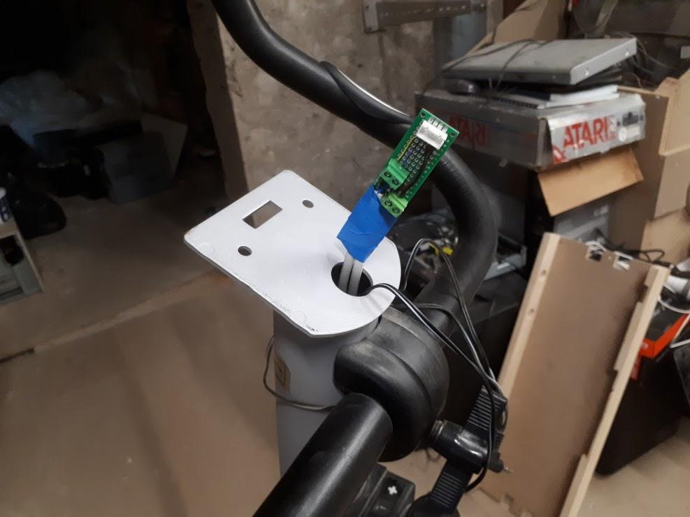 [WIP 99%] Transformer un vélo d'appartement en contrôleur Prop Cycle 1011
