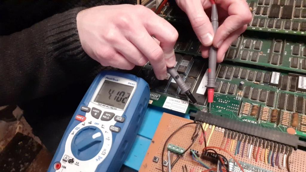 [WIP 100%] Réparation d'un PCB Twin Cobra 12010