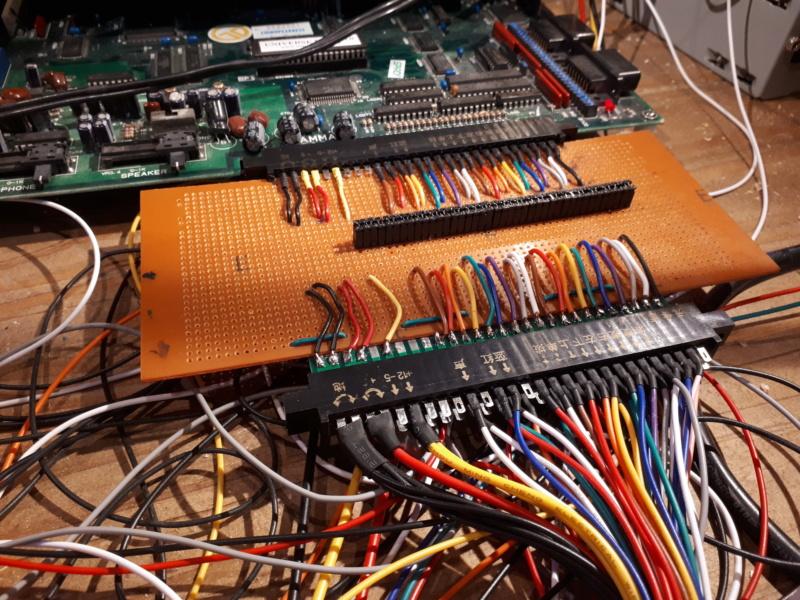 [WIP 95%] Une carte joystick USB et JAMMA 20200412