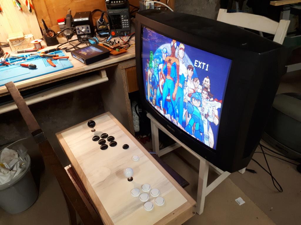 [WIP 125%] Une carte joystick USB et JAMMA (et Atari 2600) 20200416