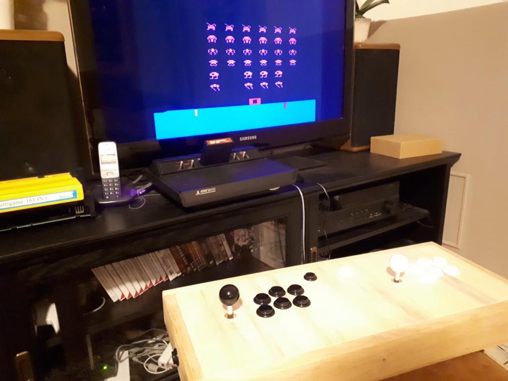 [WIP 125%] Une carte joystick USB et JAMMA (et Atari 2600) 20200421