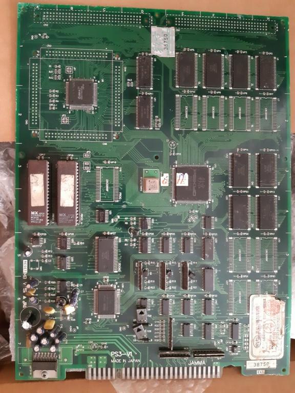[WIP 100%] Réparation d'un PCB Psikyo Strikers 1945 II 20200816