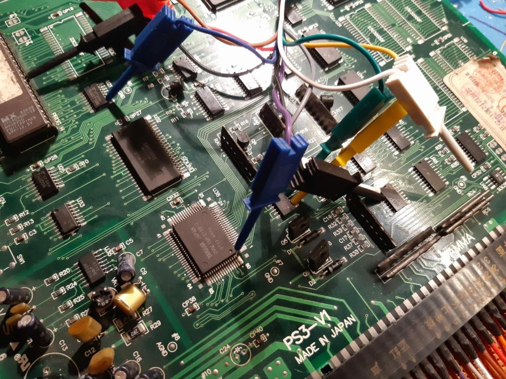 [WIP 100%] Réparation d'un PCB Psikyo Strikers 1945 II 20200822