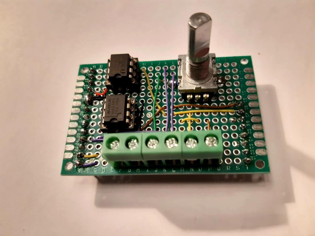[WIP 20%] Fabriquer un module de commande autonome pour contrôler un Sony BVM 20210216