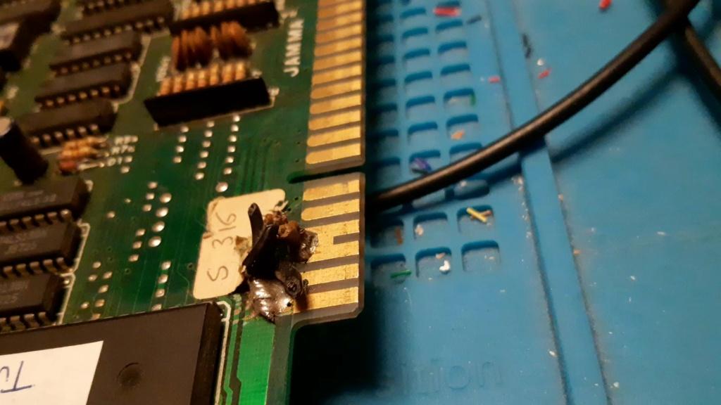 [WIP 100%] Réparation d'un PCB Twin Cobra 7010