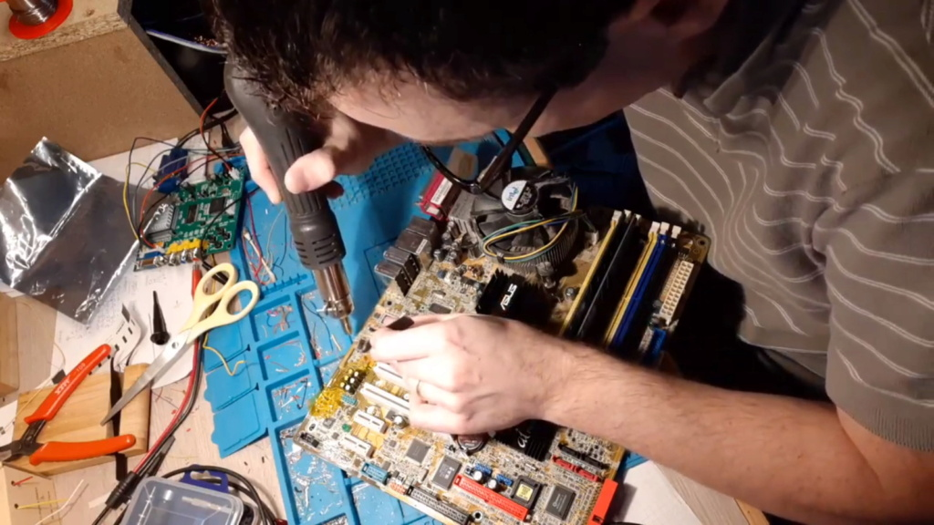 [WIP 100%] Réparation d'un PCB Psikyo Strikers 1945 II Dessou10