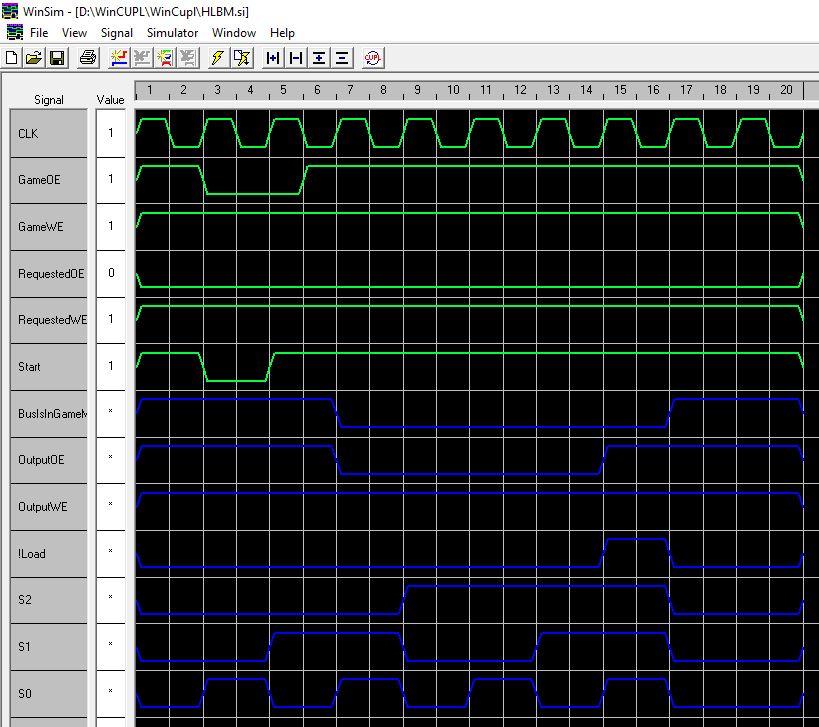 [WIP 60%] Réparation bootleg Hyper Olympic / Hack SRAM - Page 3 Galsim10