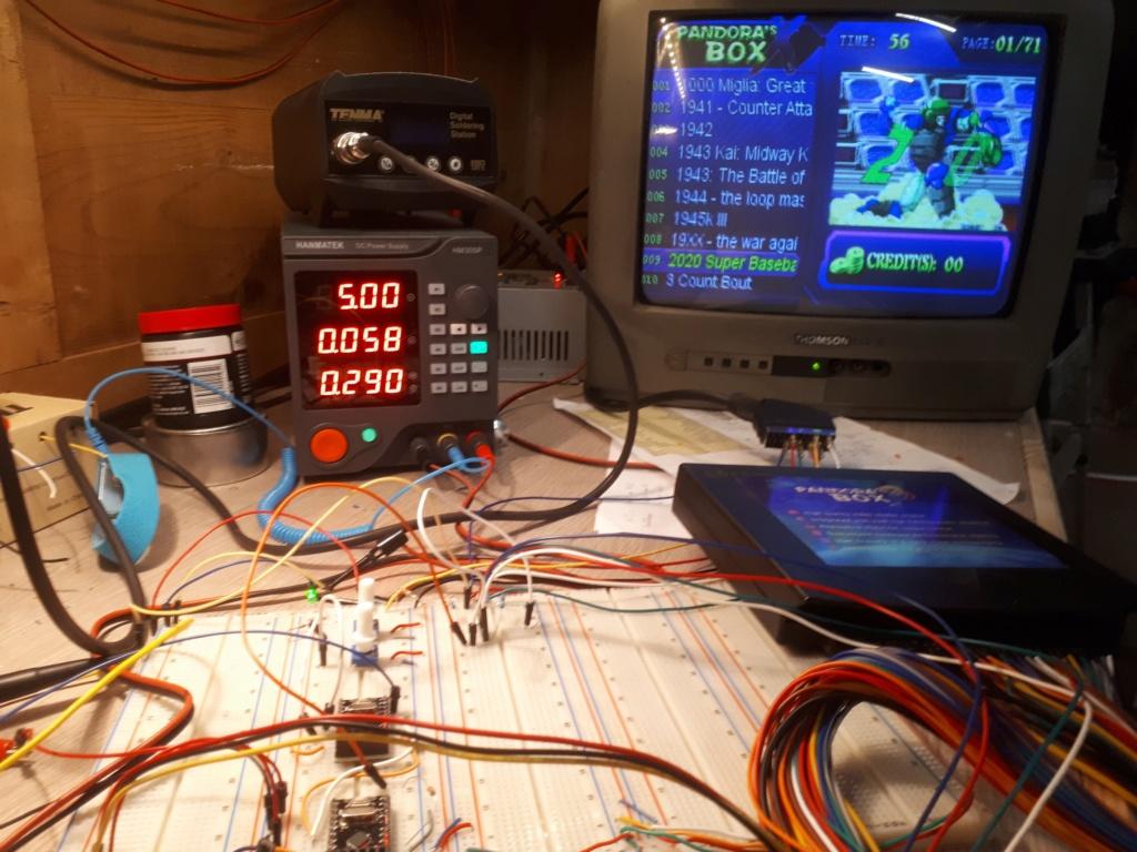 [WIP 60%] Normaliser un signal vidéo Instal10