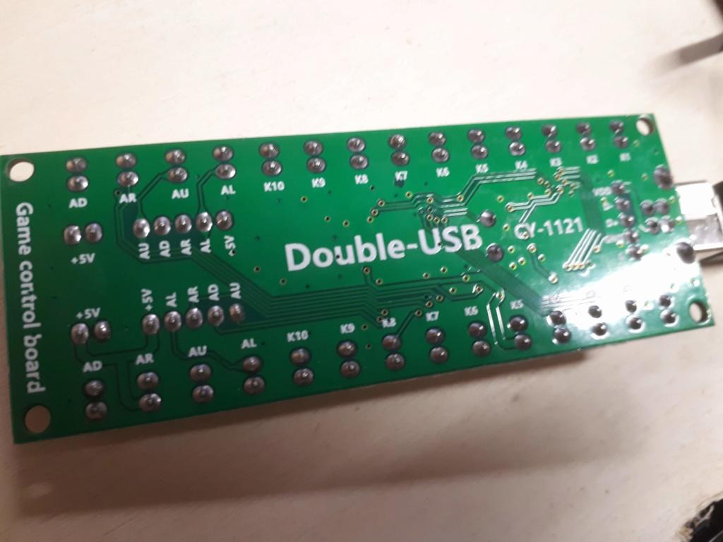 [WIP 95%] Une carte joystick USB et JAMMA Origin10