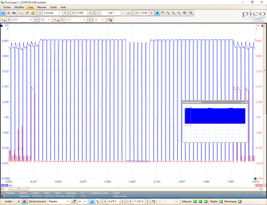 [WIP 60%] Normaliser un signal vidéo Retour10